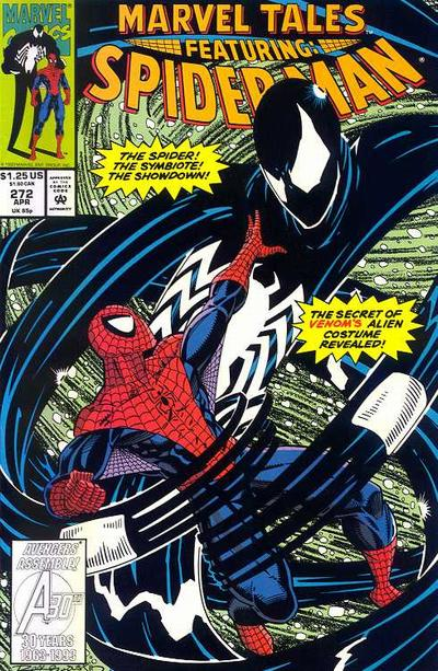 Cover for Marvel Tales (1966 series) #272