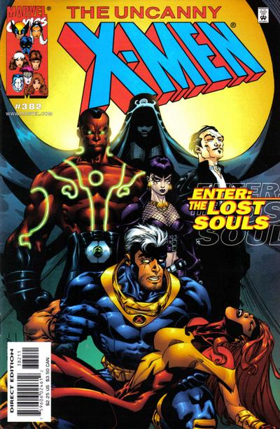 Cover for The Uncanny X-Men (Marvel, 1981 series) #382 [Direct Edition]