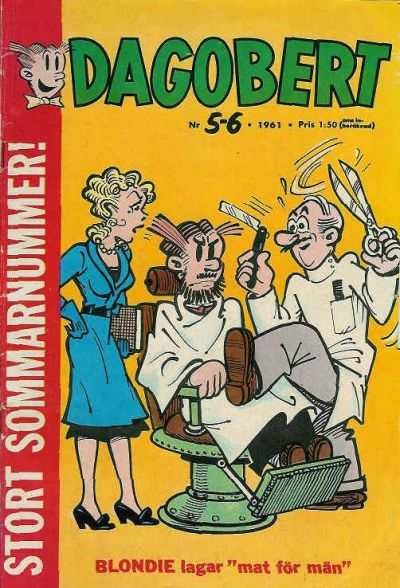Cover for Dagobert (1960 series) #5-6/1961