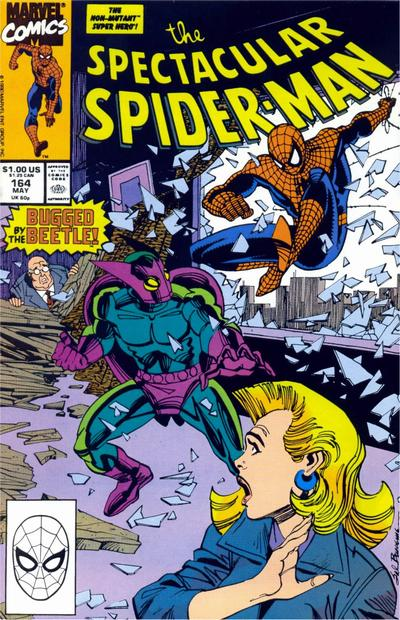 Cover for The Spectacular Spider-Man (Marvel, 1976 series) #164