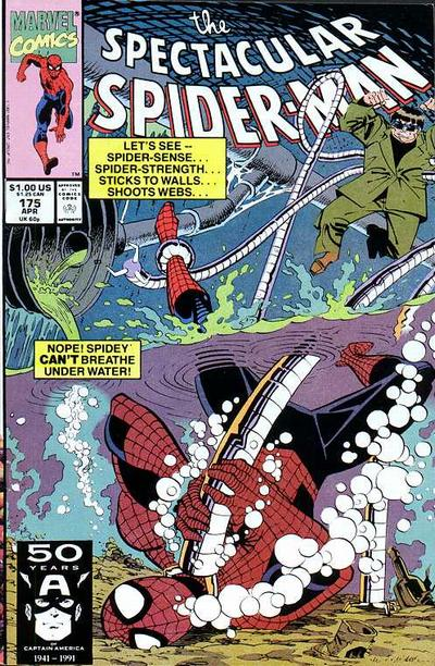 Cover for The Spectacular Spider-Man (Marvel, 1976 series) #175