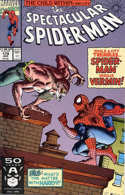 Cover for The Spectacular Spider-Man (Marvel, 1976 series) #179