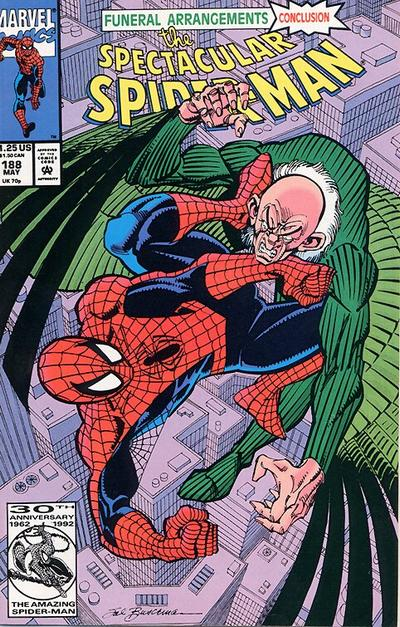 Cover for The Spectacular Spider-Man (Marvel, 1976 series) #188