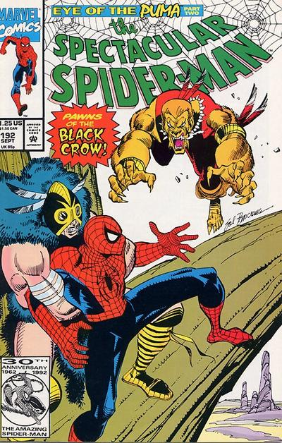 Cover for The Spectacular Spider-Man (1976 series) #192