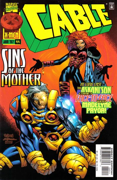 Cover for Cable (Marvel, 1993 series) #44 [Direct Edition]