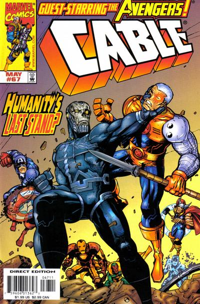 Cover for Cable (Marvel, 1993 series) #67 [Direct Edition]