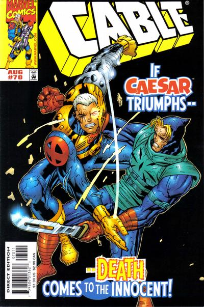 Cover for Cable (Marvel, 1993 series) #70 [Direct Edition]