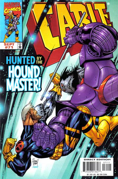 Cover for Cable (Marvel, 1993 series) #71 [Direct Edition]