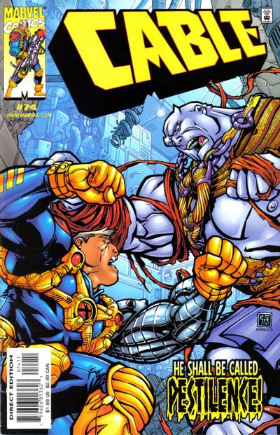 Cover for Cable (Marvel, 1993 series) #74 [Direct Edition]