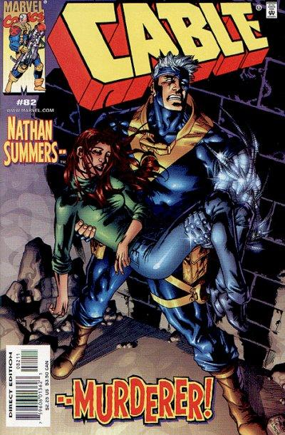 Cover for Cable (Marvel, 1993 series) #82 [Direct Edition]