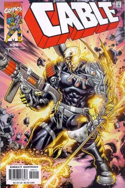 Cover for Cable (Marvel, 1993 series) #90 [Direct Edition]
