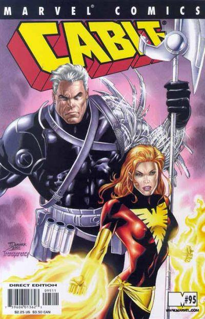 Cover for Cable (Marvel, 1993 series) #95 [Direct Edition]