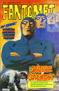 Cover Thumbnail for Fantomet (Semic, 1976 series) #1/1986