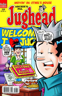 Cover Thumbnail for Archie&#39;s Pal Jughead Comics (Archie, 1993 series) #208