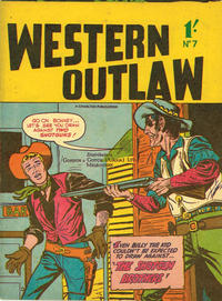 Cover Thumbnail for Western Outlaw (New Century Press, 1958 ? series) #7