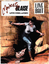 Cover Thumbnail for Modesty Blaise Live Bait (Manuscript Press, 2002 series)