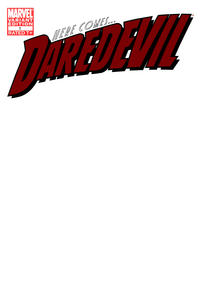 Cover for Daredevil (Marvel, 2011 series) #1 [Blank Variant]