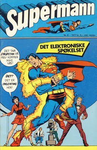 Cover Thumbnail for Supermann (Semic, 1977 series) #8/1977