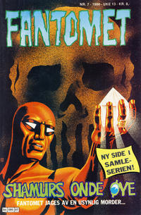 Cover Thumbnail for Fantomet (Semic, 1976 series) #7/1986