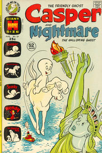 Cover Thumbnail for Casper & Nightmare (Harvey, 1964 series) #37