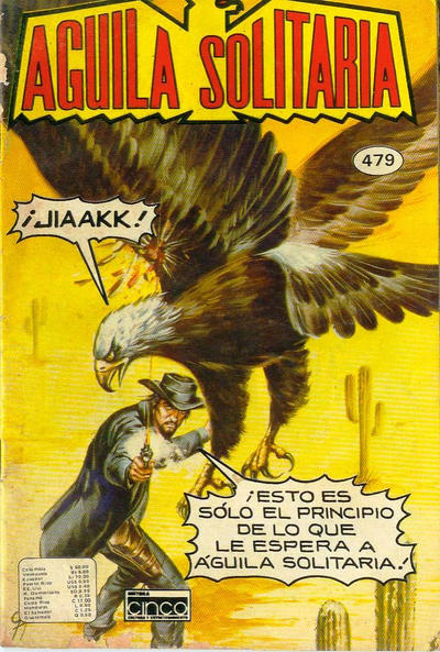 Cover for Aguila Solitaria (Editora Cinco, 1976 ? series) #479