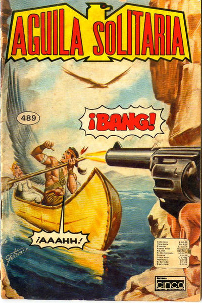Cover for Aguila Solitaria (Editora Cinco, 1976 ? series) #489
