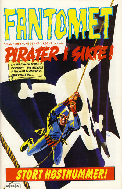 Cover for Fantomet (1976 series) #20/1985