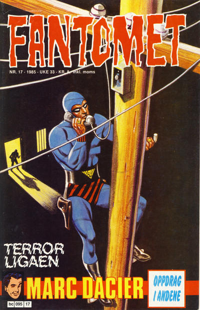 Cover for Fantomet (Semic, 1976 series) #17/1985