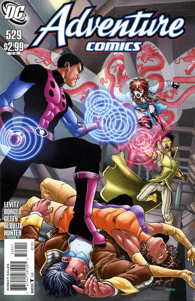 Cover for Adventure Comics (DC, 2009 series) #529 [direct]