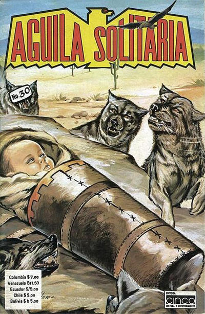 Cover for Aguila Solitaria (Editora Cinco, 1976 ? series) #30