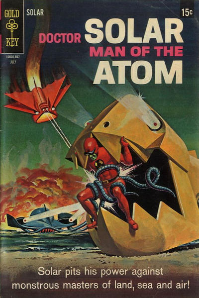 Cover for Doctor Solar, Man of the Atom (1962 series) #24 [15-Cent Version]
