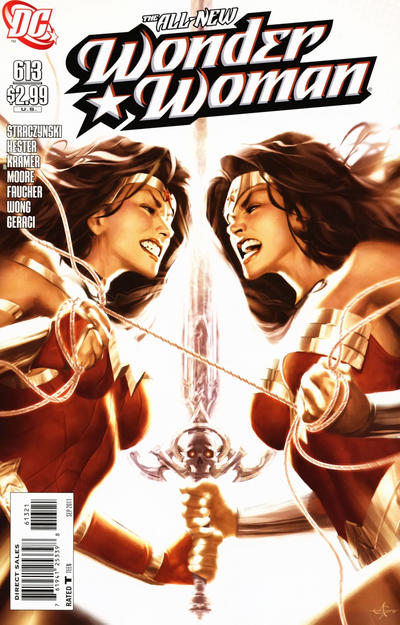 Cover for Wonder Woman (DC, 2006 series) #613 [Alex Garner Variant]