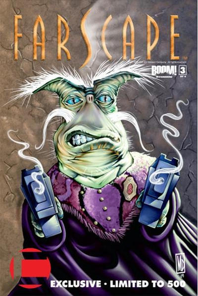 Cover for Farscape (Boom! Studios, 2008 series) #3 [Challenger Comics Exclusive]
