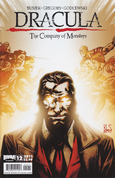 Cover for Dracula: The Company of Monsters (Boom! Studios, 2010 series) #12