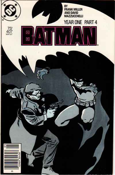 Cover for Batman (DC, 1940 series) #407 [Direct Edition]