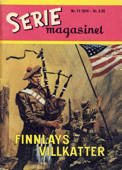 Cover for Seriemagasinet (Se-Bladene - Stabenfeldt, 1951 series) #11/1974