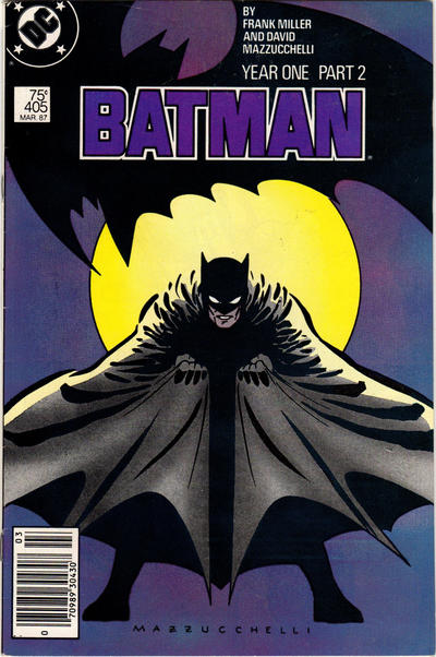 Cover for Batman (DC, 1940 series) #405