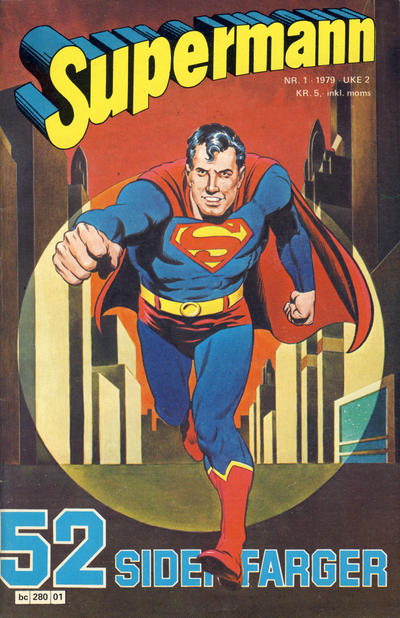 Cover for Supermann (1977 series) #1/1979
