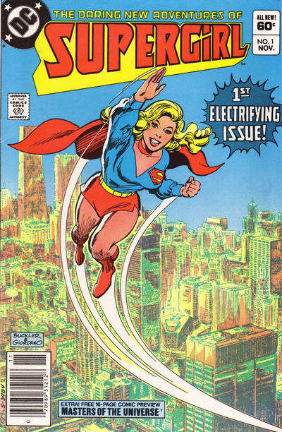Cover for The Daring New Adventures of Supergirl (DC, 1982 series) #1 [Direct]