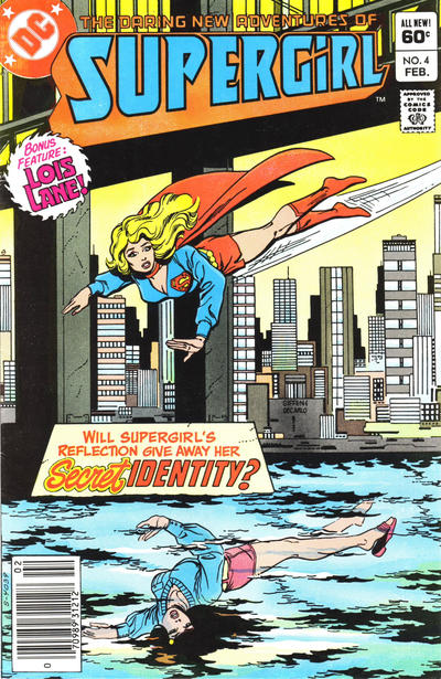 Cover for The Daring New Adventures of Supergirl (DC, 1982 series) #4 [Direct-Sales]