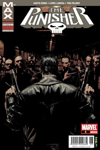 Cover for Marvel Max: The Punisher (Editorial Televisa, 2008 series) #6