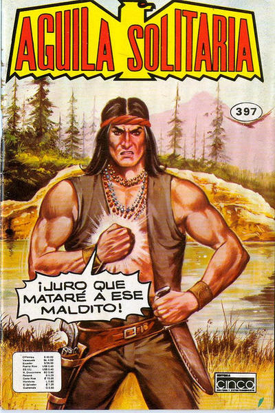 Cover for Aguila Solitaria (Editora Cinco, 1976 ? series) #397