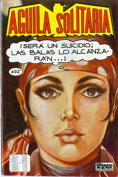 Cover for Aguila Solitaria (1976 ? series) #402