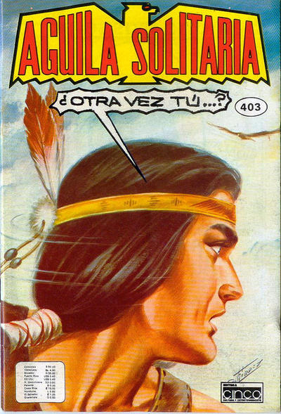 Cover for Aguila Solitaria (Editora Cinco, 1976 ? series) #403