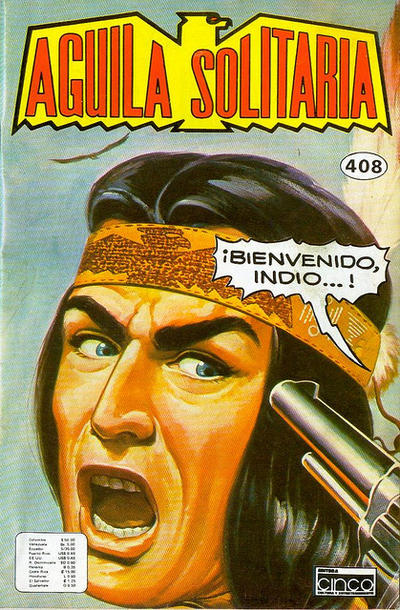 Cover for Aguila Solitaria (Editora Cinco, 1976 ? series) #408