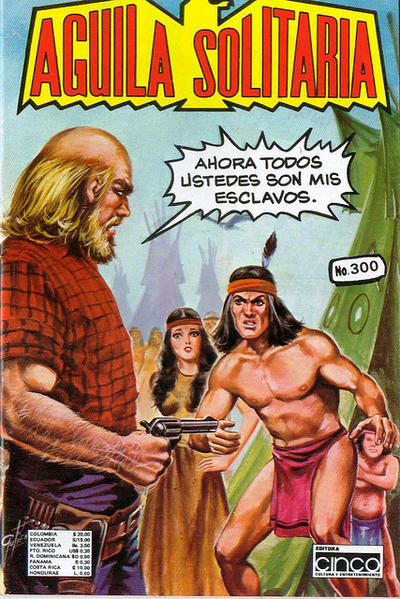 Cover for Aguila Solitaria (Editora Cinco, 1976 ? series) #300