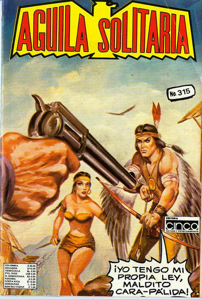 Cover for Aguila Solitaria (Editora Cinco, 1976 ? series) #315
