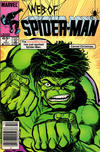 Cover for Web of Spider-Man (Marvel, 1985 series) #7 [Newsstand Edition]
