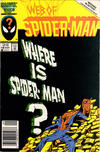 Cover for Web of Spider-Man (Marvel, 1985 series) #18 [Newsstand Edition]