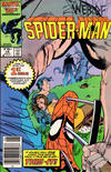 Cover for Web of Spider-Man (Marvel, 1985 series) #16 [Newsstand Edition]